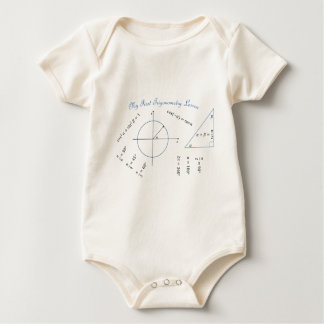Freshman Trigonometry Item Baby Bodysuit