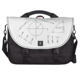 Freshman Trigonometry Item Laptop Computer Bag