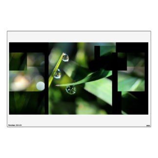 Freshness morning wall decal