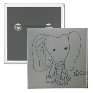 Freshofftheink X Stamps the Elephant Button