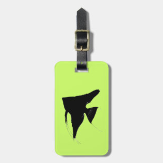 Freshwater Angelfish Bag Tag