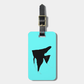 Freshwater Angelfish Luggage Tag