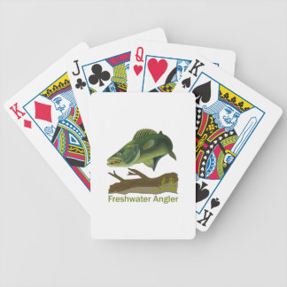 FRESHWATER ANGLER BICYCLE PLAYING CARDS