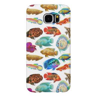 Freshwater Aquarium Fish Samsung Galaxy S6 Case