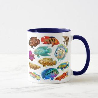 Freshwater Aquarium Fishes Mug