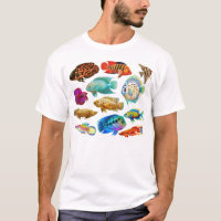 Freshwater Aquarium Fishes T-Shirt