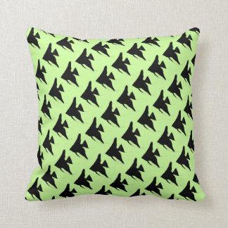 Freshwater Black Angelfish Pillow
