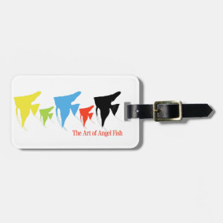 Freshwater Colorful Angelfish Bag Tag