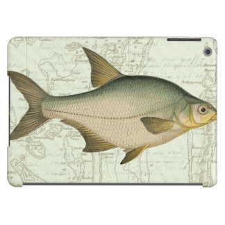 Freshwater Fish on Map iPad Air Case