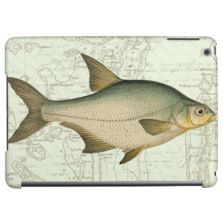 Freshwater Fish on Map iPad Air Covers