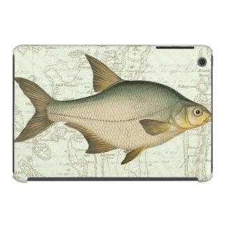 Freshwater Fish on Map iPad Mini Cases