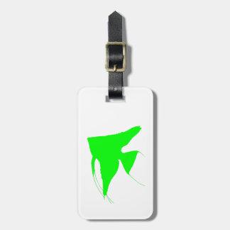 Freshwater Green Angelfish Luggage Tag