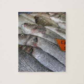 Freshwater Perch for Sale Jigsaw Puzzle