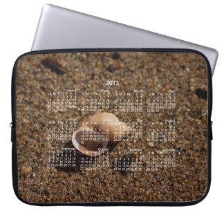 Freshwater Snail Shell 2013 Calendar Computer Sleeve