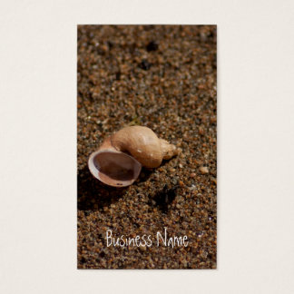 Freshwater Snail Shell Business Card