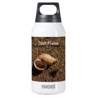 Freshwater Snail Shell; Customizable Insulated Water Bottle