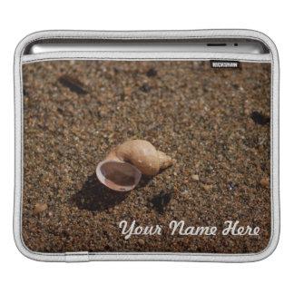 Freshwater Snail Shell Customizable iPad Sleeves