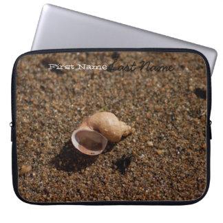 Freshwater Snail Shell Customizable Laptop Sleeves