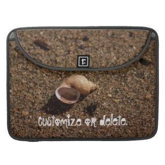 Freshwater Snail Shell Customizable Sleeves For MacBooks
