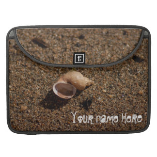 Freshwater Snail Shell Customizable Sleeves For MacBook Pro