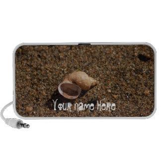 Freshwater Snail Shell Customizable Mp3 Speakers