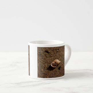Freshwater Snail Shell; No Text Espresso Cup
