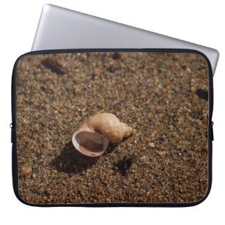 Freshwater Snail Shell No Text Laptop Computer Sleeve