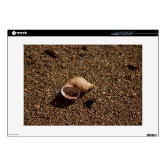 """Freshwater Snail Shell 15"""" Laptop Skin"""