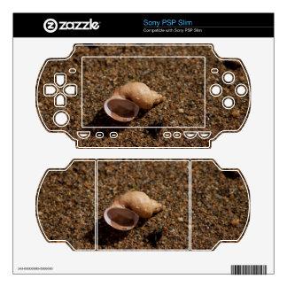Freshwater Snail Shell PSP Slim Skins
