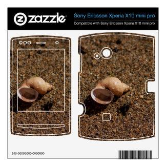 Freshwater Snail Shell Xperia X10 Skin
