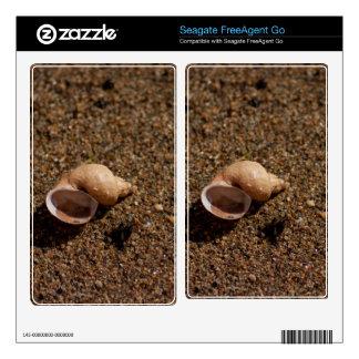 Freshwater Snail Shell Skin For FreeAgent Go