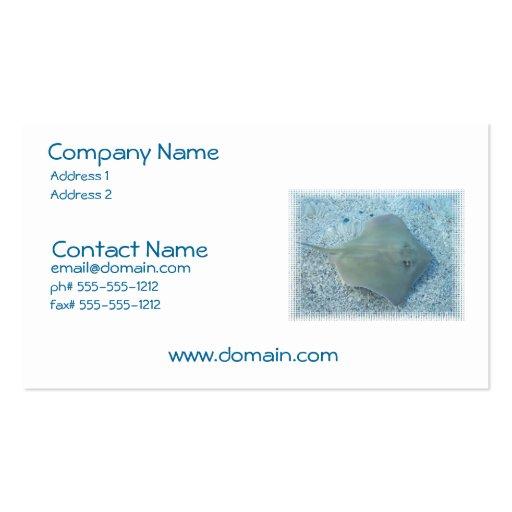 Freshwater Stingray Business Card