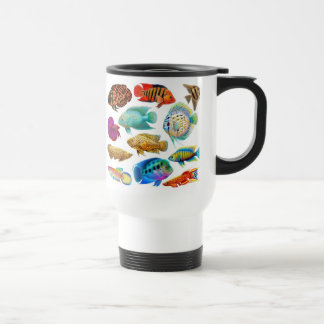 Freshwater Tropical Fish Travel Mug