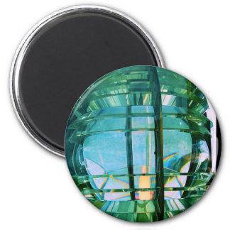 Fresnel Lens (Light) @ St Michaels Lighthouse 2 Inch Round Magnet
