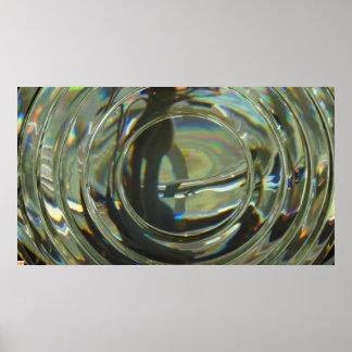 Fresnel lens poster