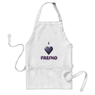 Fresno -- Azul con resplandor Delantal