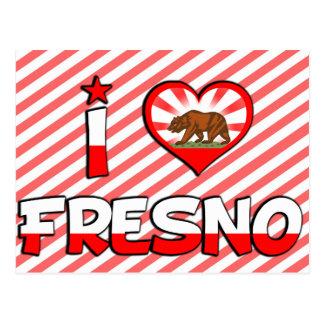 Fresno, CA Postcard