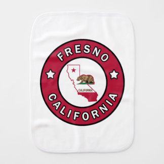 Fresno California Baby Burp Cloth