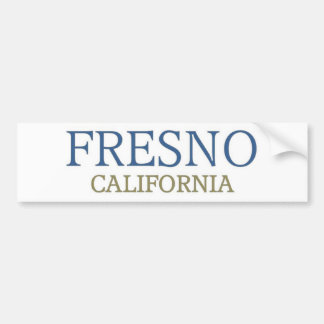 Fresno California Bumper Sticker