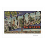 Fresno, California - escenas grandes de la letra Tarjetas Postales