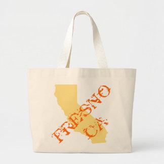 Fresno, California Large Tote Bag