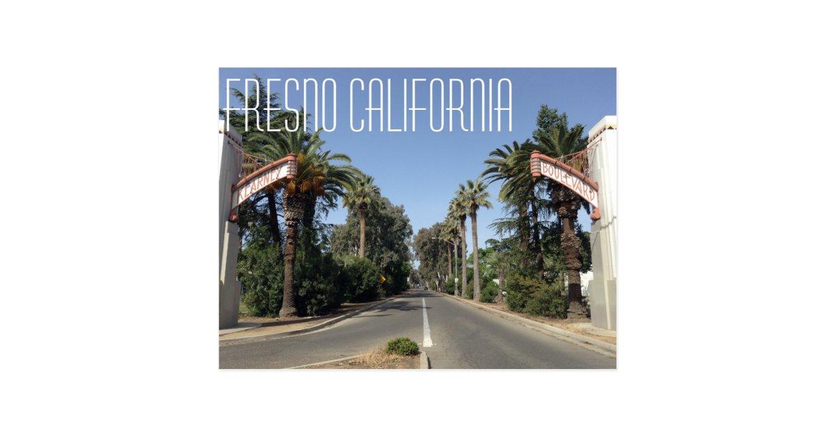 Wedding Invitations Fresno Ca: Fresno California Postcard