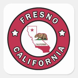 Fresno California Square Sticker