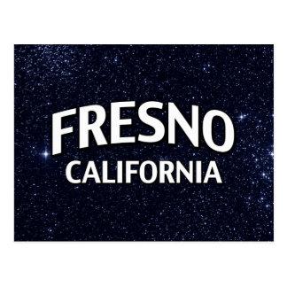 Fresno California Tarjeta Postal