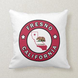 Fresno California Throw Pillow