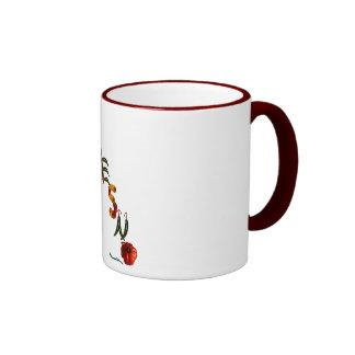 Fresno Chili Peppers Ringer Coffee Mug
