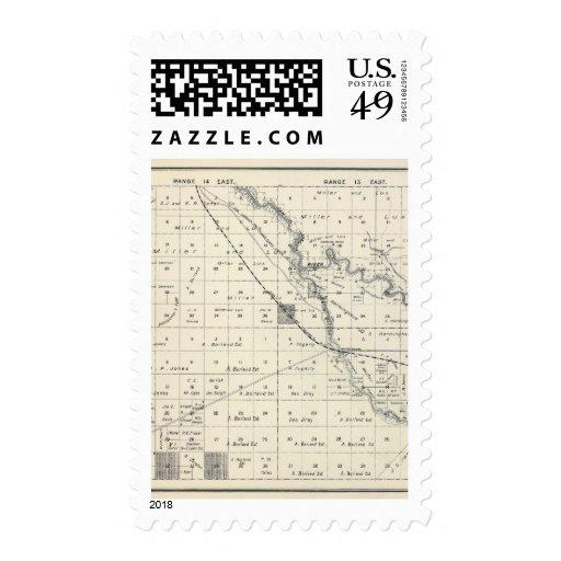 Fresno County, California 10 Stamp