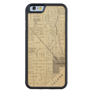 Fresno County, California 12 Carved® Maple iPhone 6 Bumper Case