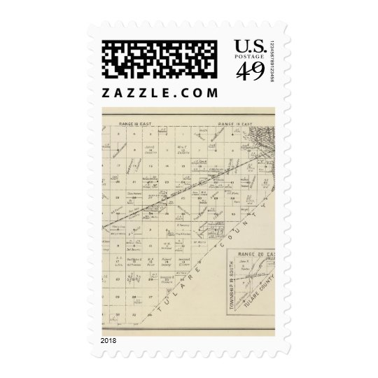 Fresno County, California 15 Postage
