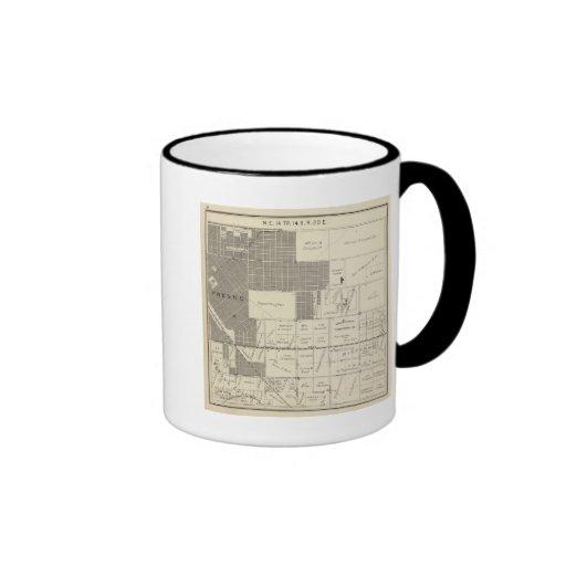 Fresno County, California 18 Ringer Coffee Mug